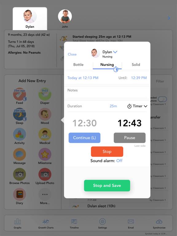 Baby Connect for iPadのおすすめ画像2