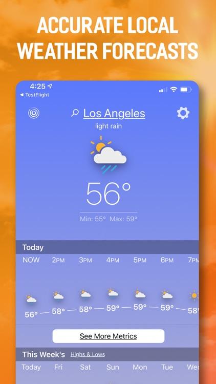 The Weather Forecast App screenshot-0