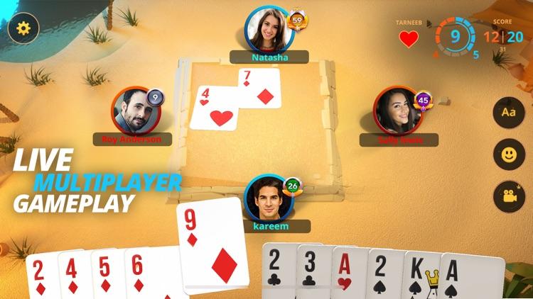 Tarneeb Masters - Multiplayer