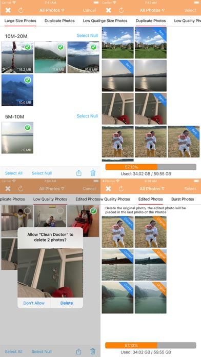 Clean Doctor review screenshots