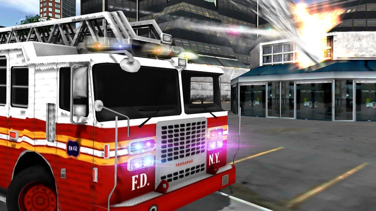 Firefighter & Rescue Ambulance
