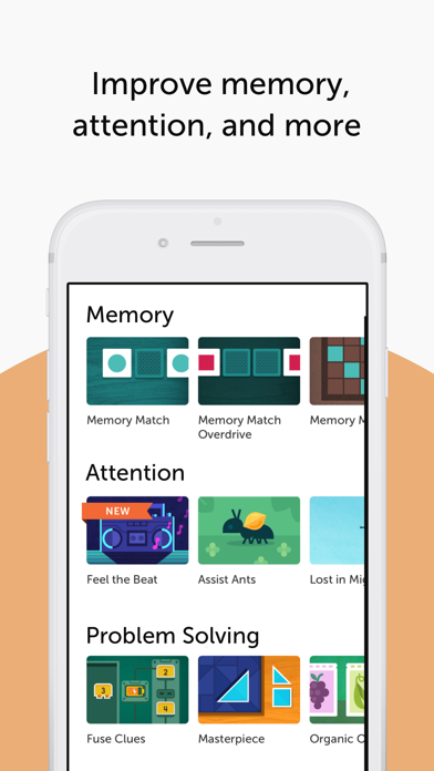 Screenshot for Lumosity: Brain Training in Taiwan App Store