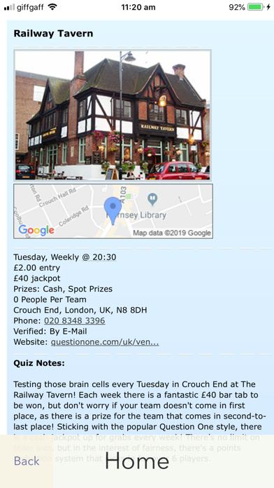 Pub Quizzers screenshot four