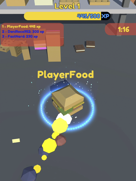 Food.io - Food Battle screenshot 6