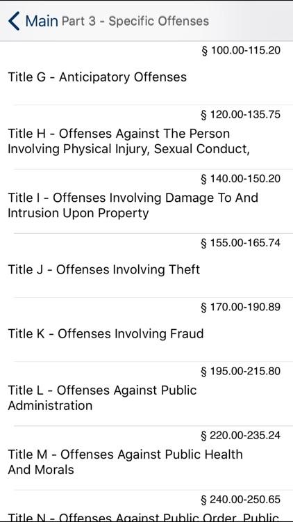 NY Penal Law 2020 screenshot-4