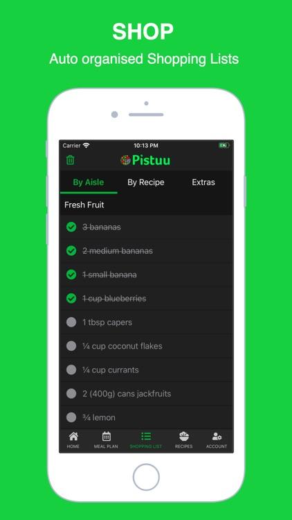 Pistuu: Plant Based Recipes screenshot-5
