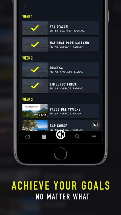 CycleMasters - Indoor Cycling screenshot-8