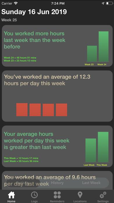 Workadia - Auto-Hours-Tracker screenshot two