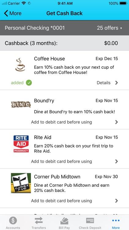 Pacific City Bank Mobile screenshot-6