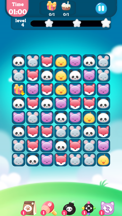 Screenshot for 动物消消乐园 - 萌宠快乐消消消 in Spain App Store