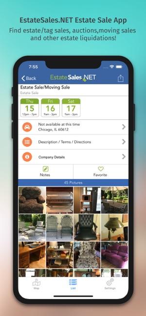 Estate Sales - EstateSales NET on the App Store