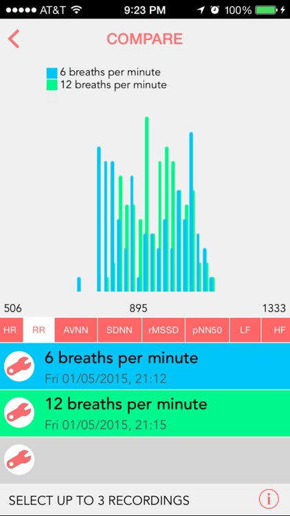 Camera Heart Rate Variability screenshot-4