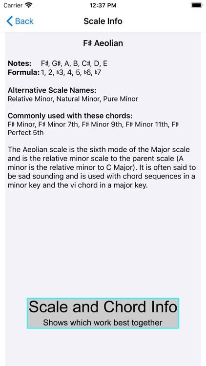 Guitar Scales & Chords Power screenshot-4