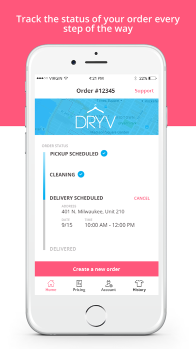 DRYV screenshot