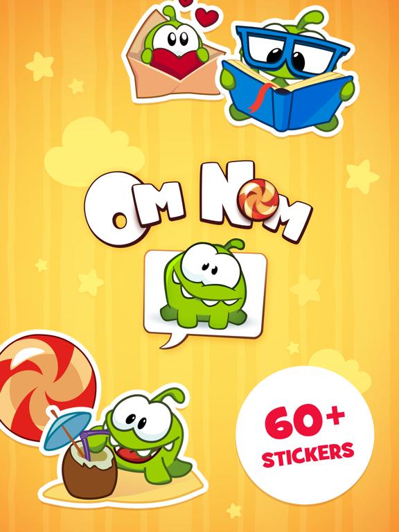 Screenshot #4 pour Om Nom Stickers