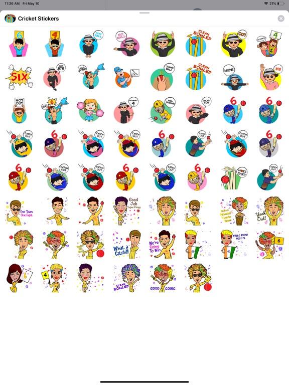 Cricket T20 Stickers screenshot 4