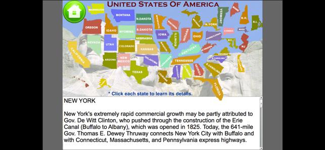 United States Map Quiz Game