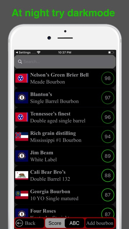 Bourbon Tasting screenshot-1