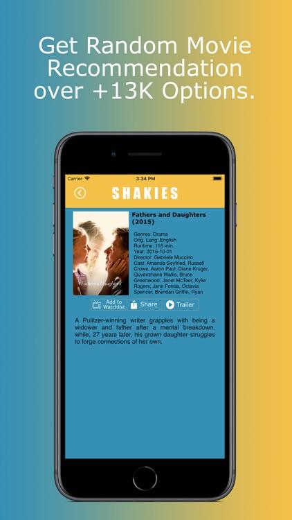 Shakies: Shake for Movies screenshot-4