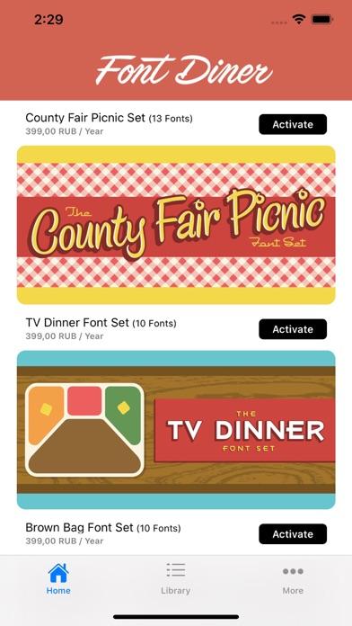 Font Dinerのおすすめ画像1