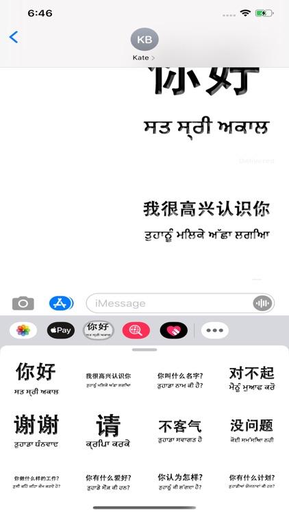 Punjabi Chinese screenshot-3