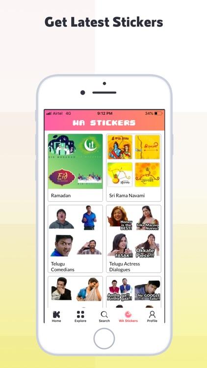 Kulfy: Videos, GIFs & Stickers screenshot-3