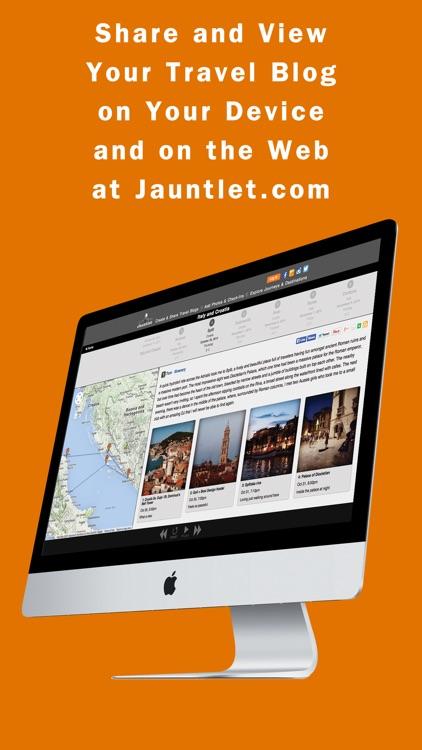 Jauntlet Travel Blog & Journal screenshot-3