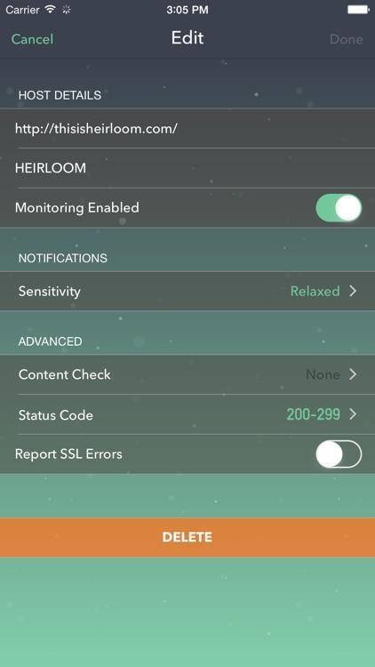 Vigil Website Monitoring screenshot-3