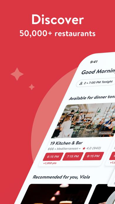OpenTable: Restaurant Bookings