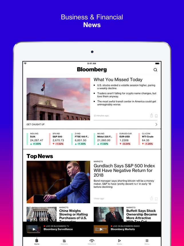 Bloomberg: Business News on the App Store