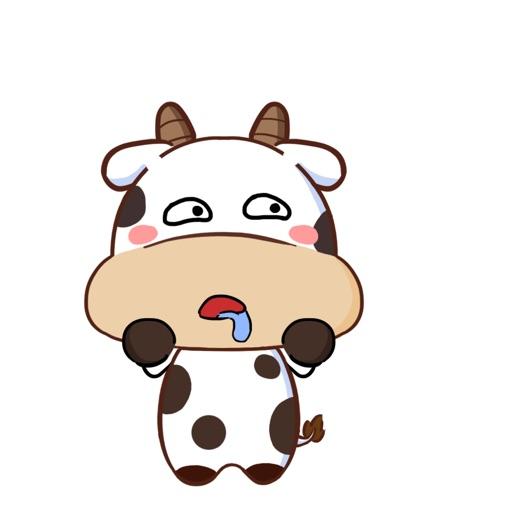 护国神牛-可爱贴纸