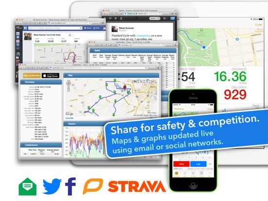 Cyclemeter GPS - Cycling Running and Mountain Biking Ride Tracking screenshot