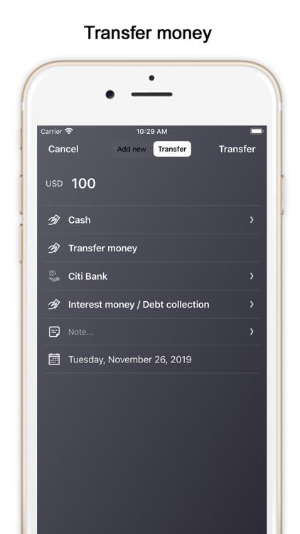 MoMa - Personal Money Manager screenshot-4