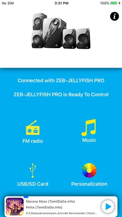 Zeb Spk Remote