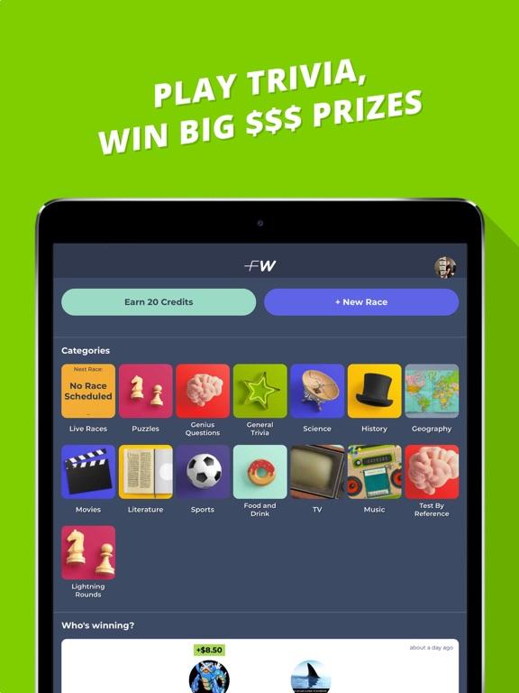 FleetWit: Play Trivia, Win $$$ by FleetWit (iOS, United States
