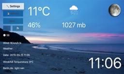 TV Beach Weather