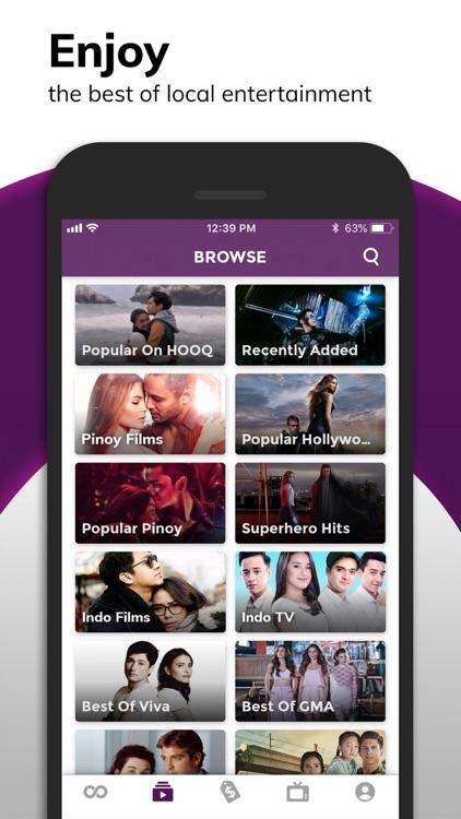 HOOQ - Movies, TV Shows & News