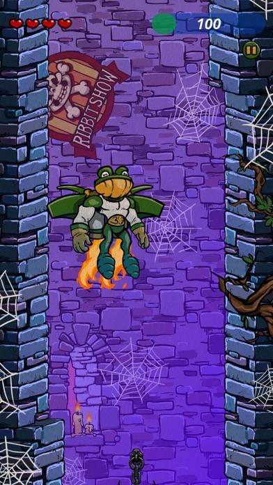 Screen Shot Super Toad Jump 4