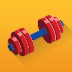 Ícone do app Strength Training & Gym Log