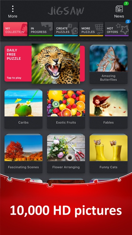 Jigsaw Puzzle Collection HD screenshot-0
