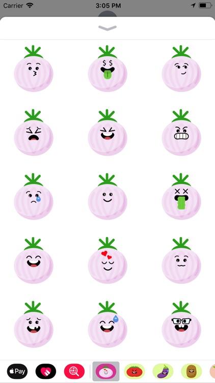 onions emoji stickers app