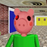 Crazy Piggy baldi Jumpscare !
