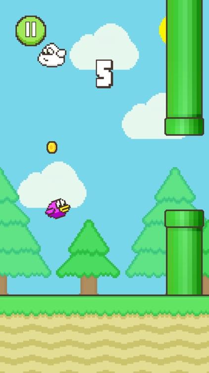 Flappy Family Bird Arcade screenshot-0