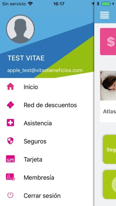 Vitae Beneficios screenshot four