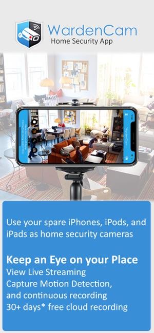 Alfred: Sécurité vidéosurveillance iPhone