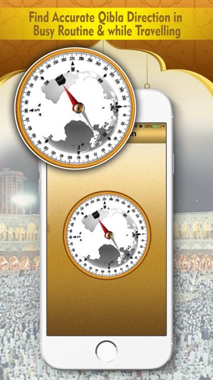 Qibla Compass : Namaz Timing