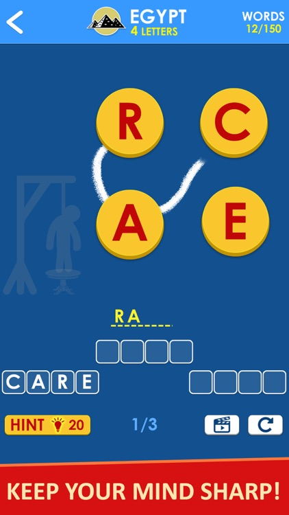 Word Game Anagram Hangman