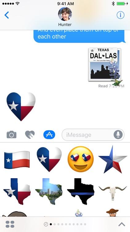 Texas Emojis screenshot-4