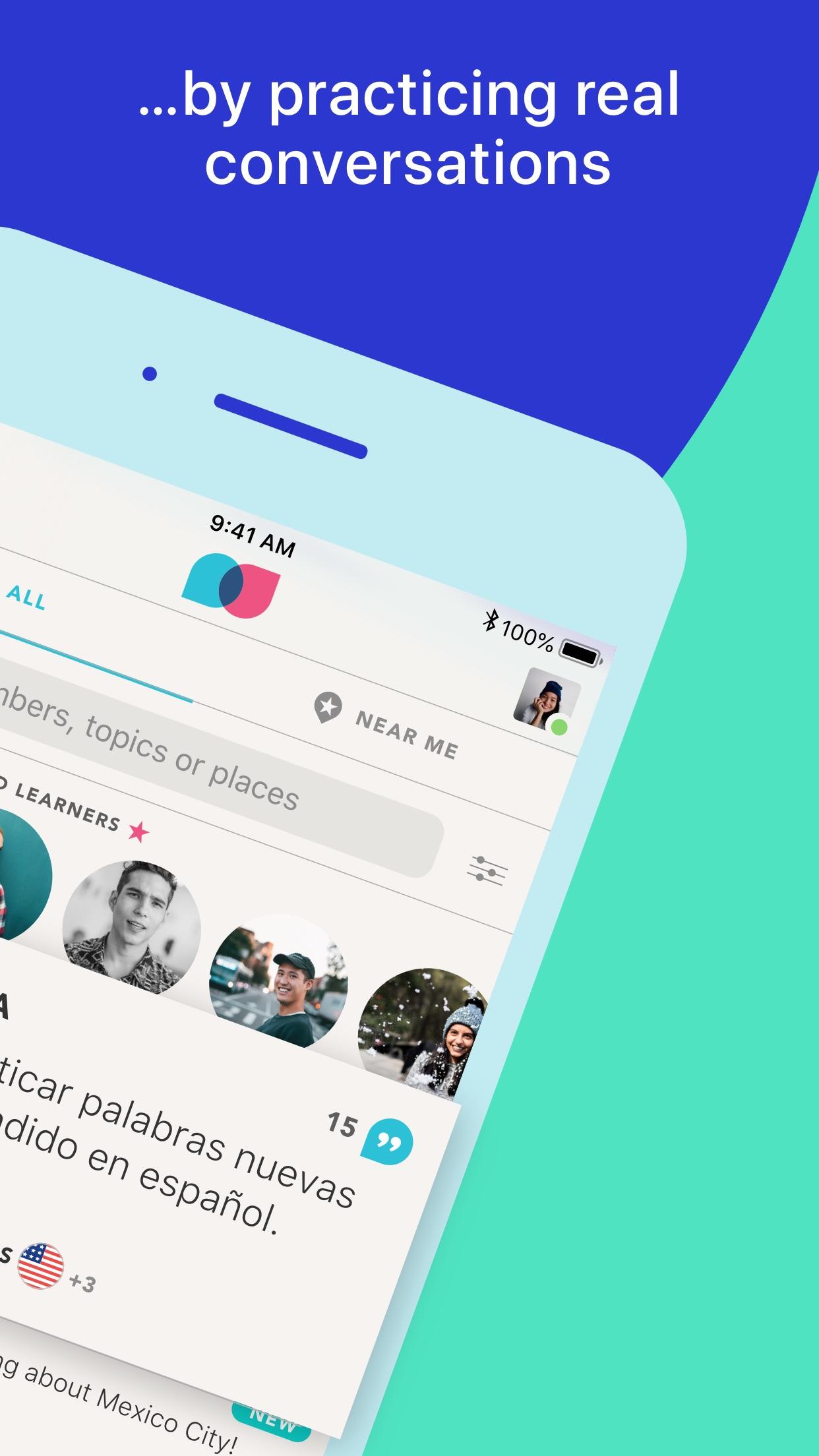 Tandem - Language Exchange Screenshot