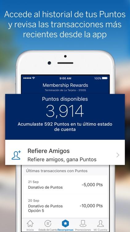Amex México screenshot-4